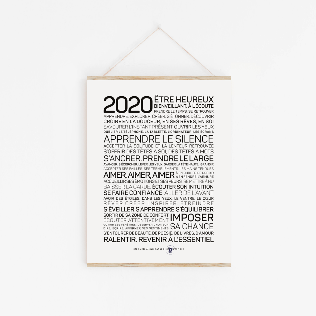 Les 3 habitudes à adopter en 2020!